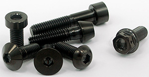 Titanium Bolts Black