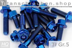 M10 /&  M12  Grade 5 Ti6Al4V M8 Titanium STEELOCK NUT with Collar M6 Italian